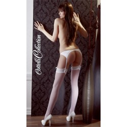 Čarape Stockings white M