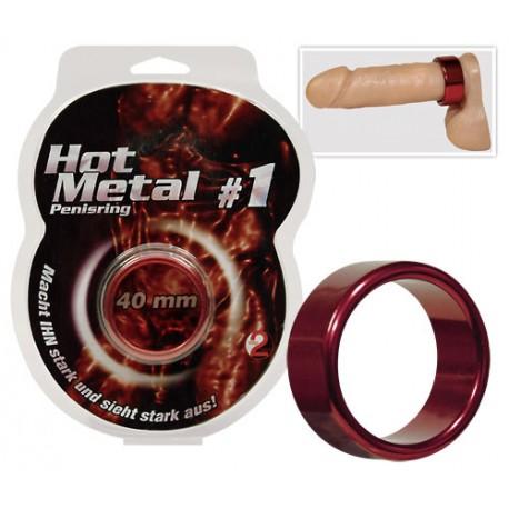 """Cock Ring Aluminium """"Hot Metal"""""""
