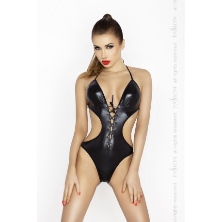 Erotski crni bodi JEAN BODY black L/XL – Passion