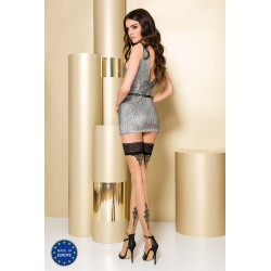 Stay-up stockings ST106 3/4 beige - Passion