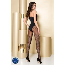 Tights TI104 3/4 nero - Passion