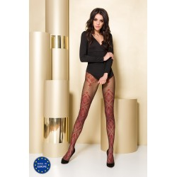 Tights TI105 3/4 red - Passion