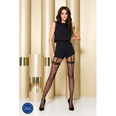 Tights TI107 3/4 nero - Passion