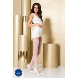 Tights TI108 3/4 bianco - Passion