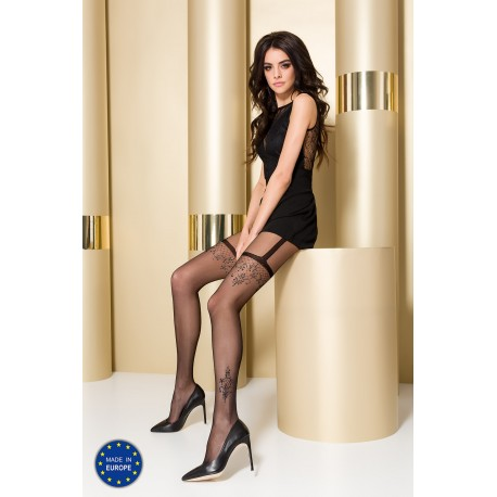 Tights TI108 3/4 nero - Passion