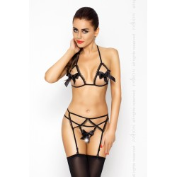 Komplet LAURA SET black S/M - Passion