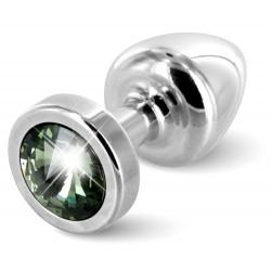 Butt Plug ANNI Round silver