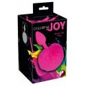 Analni čep Colorful Joy Bunny Tail S