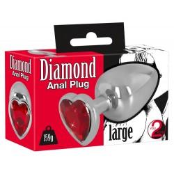 Analna kupa Diamond Anal plug L