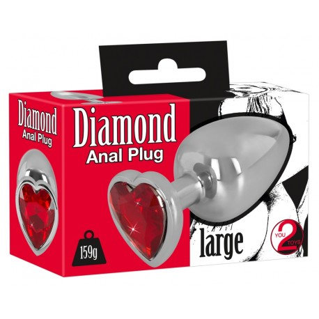 Анальная пробка Diamond Anal plug L