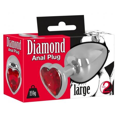 Diamond Anal plug L