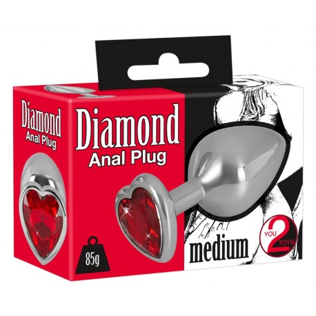 Analna kupa Diamond Anal plug M