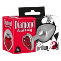 Анальная пробка Diamond Anal plug M