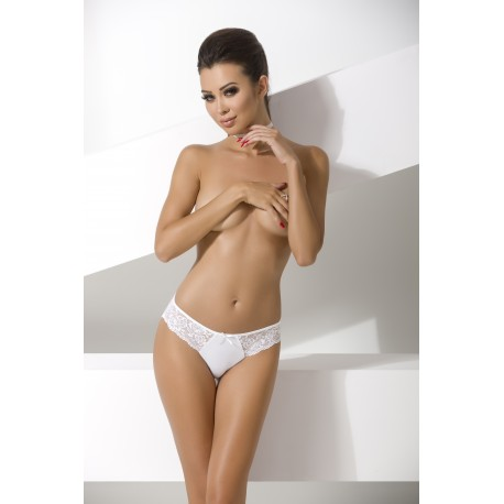 Трусики LOTTE THONG white S/M - Passion