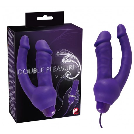 Вибратор Double Pleasure Vibe Lila