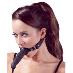 Silicone Knebel mit Dildo von fetish collection