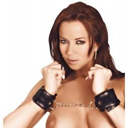 Кожаные наручники BK