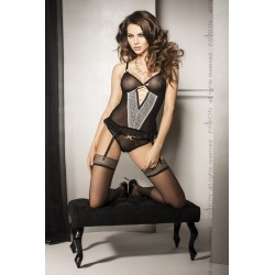 SHIRLEY CORSET black S/M - Passion