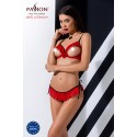 """""""CHERRY SET WITH OPEN BRA red L/XL - Passion"""""""