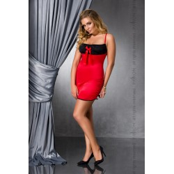 Haljina LENA CHEMISE red 4XL/5XL - Passion