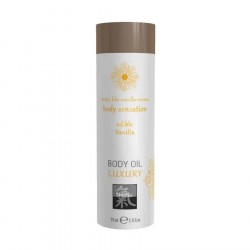 Shiatsu BODY OIL LUXURY edible Vanilla