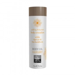 Ulje za masazu Shiatsu LUXURY edible Apricot & Sea buckthorn