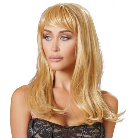 Perika Long Blonde Wig