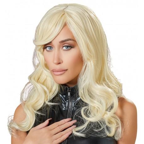 Perika Wavy Blonde Wig