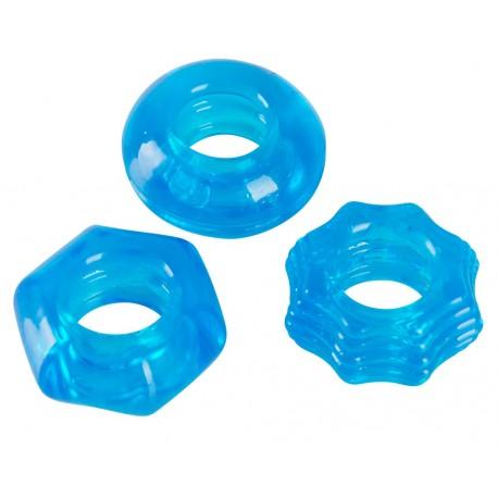 Prstenovi za penis Stretchy Cock Ring Set