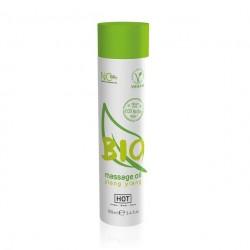 Массажное масло HOT BIO massage oil ylang ylang 100ml