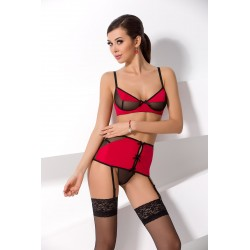SANDRA SET red S/M Passion
