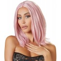 Wig, bob, pink
