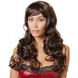 Perika Long Dark Brown Wig