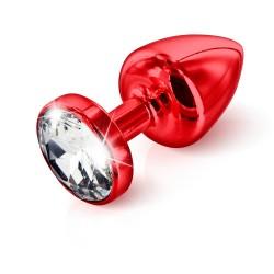 Analna kupa Butt Plug »ANNI Round T1 red«